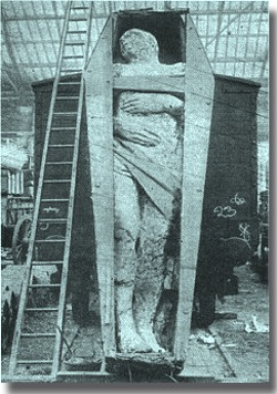 fossilised Irish giant