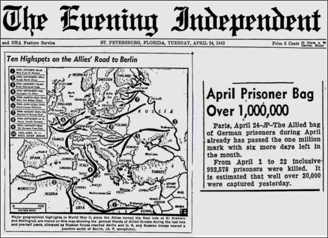 The Evening Independent, April, 24, 1945