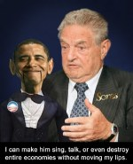 George Soros and his puppet Obama