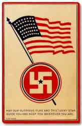 American Swastika on WWII-1929 to 1932-1941 Boeing P12-F4B